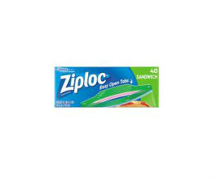 picture about Ziploc Printable Coupons named Ziploc - Sandwich Baggage Just $1.78 at Walmart with Coupon