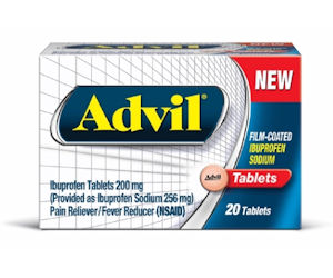 FREE Sample of Advil Film Coat...