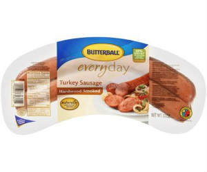 picture regarding Butterball Coupons Turkey Printable known as Butterball - Turkey Sausage $1.93 with Coupon at Walmart