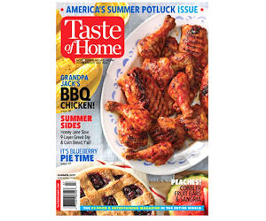 Free Subscription to Taste of Home Magazine