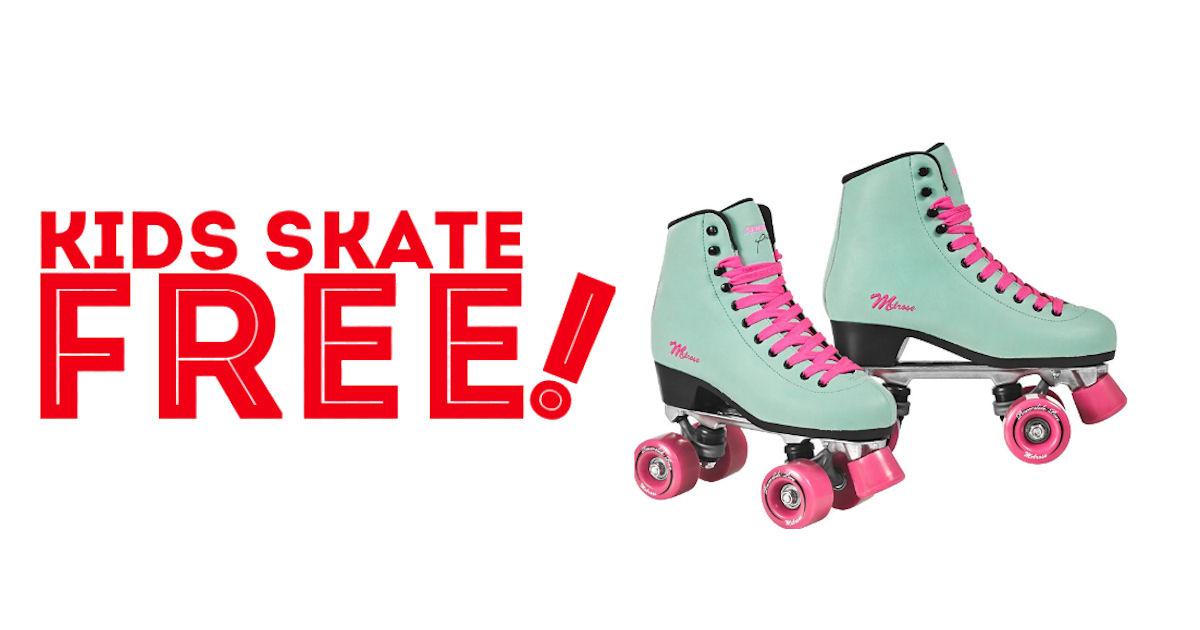 Kids Skate FREE...