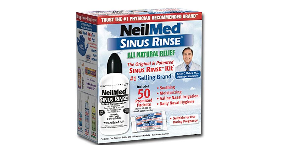 FREE NeilMed Sinus Rinse Kit..