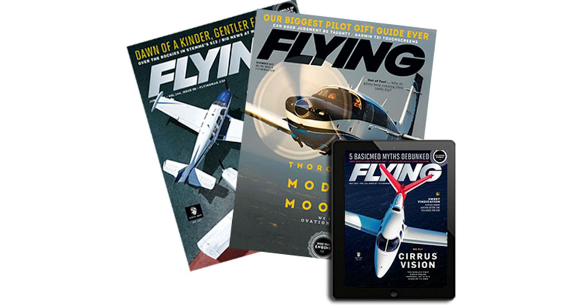 FREE 1-Year Subscription to Flying Magazine