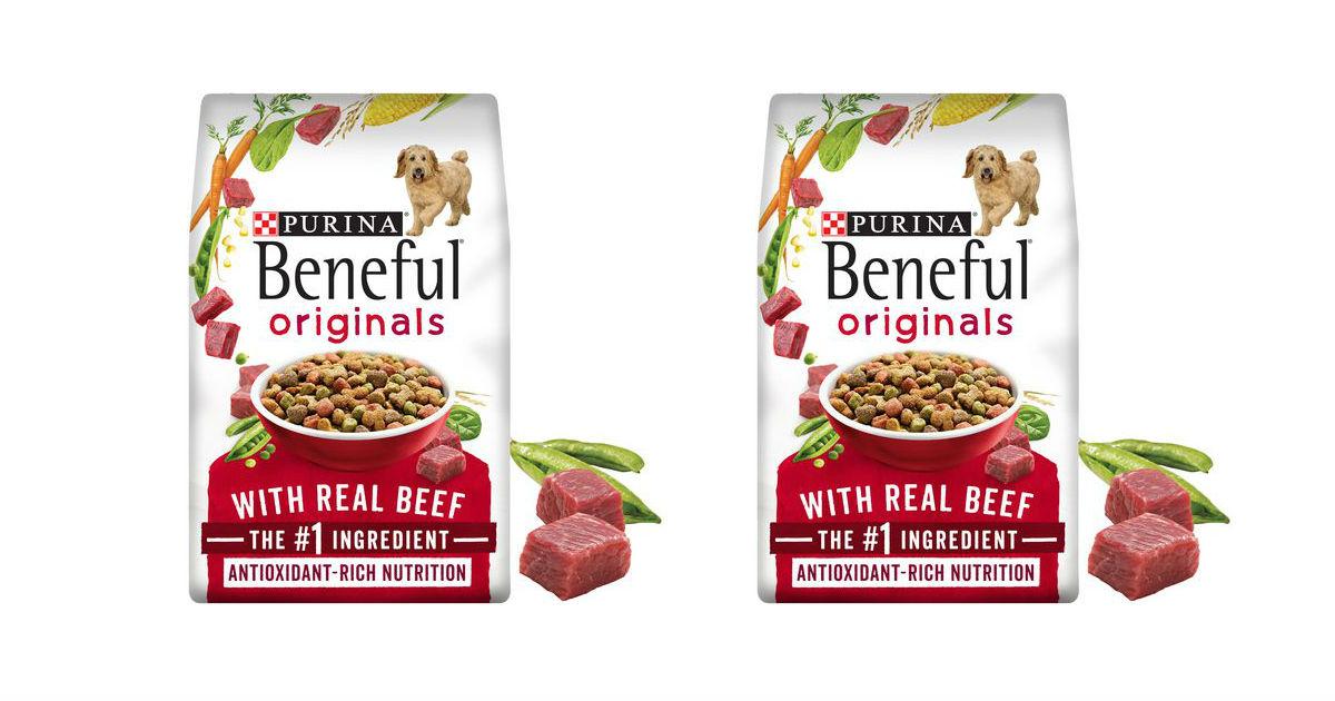 Beneful Dry Dog Food deal at Walmart