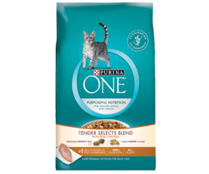 Free Sample of Purina One Chicken Tender Selects Cat Food - Free ...