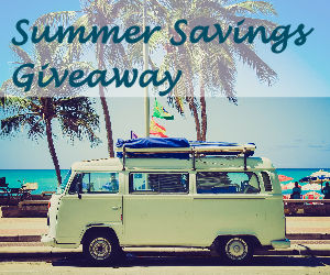 Week 2 Summer Giveaways