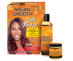 FREE Argan Smooth Silk Press K...