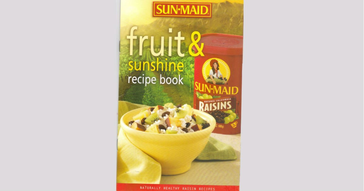 Free download of sun maid fruit sunshine recipe book free stuff free download of sun maid fruit sunshine recipe book forumfinder Gallery