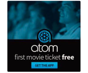 FREE Movie Ticket with the Ato...