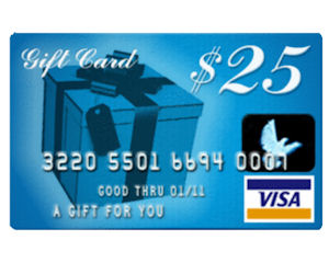 FREE $25 Visa Gift Card with K...