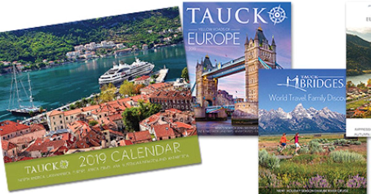 FREE 2017 Tauck Calendar...