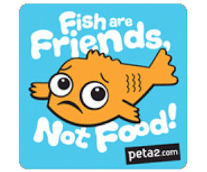 FREE Fish Are Friends Not Food...
