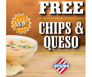 FREE Chips & Queso!