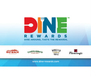 photograph regarding Bonefish Grill Printable Coupon identified as Dine Advantages - $5 Off Carrabbas, Outback, Bonefish Grill