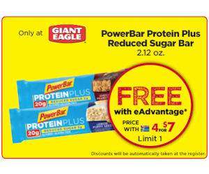 FREE PowerBar Protein Bar &amp...