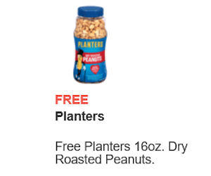 FREE 16oz Jar of Planters Pean...