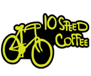FREE 10 Speed Coffee Stickers.