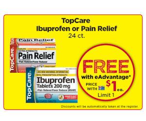 FREE TopCare Ibuprofen or Pain...