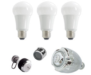FREE LED Bulbs, Power Strip, S...