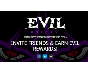 FREE Cases of Evil Energy Drin...
