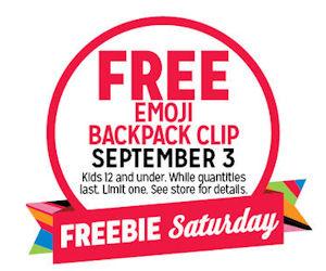 FREE Emoji Backpack Clip!