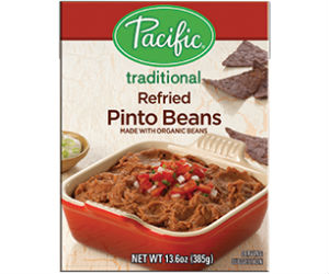 FREE Pacific Refried Beans + M...