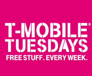 T-Mobile Tuesdays - FREE Stuff...