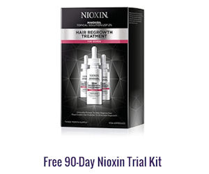 FREE 90-Day Nioxin Trial Kit!