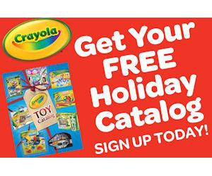Free 2016 Crayola Holiday Toy Catalog