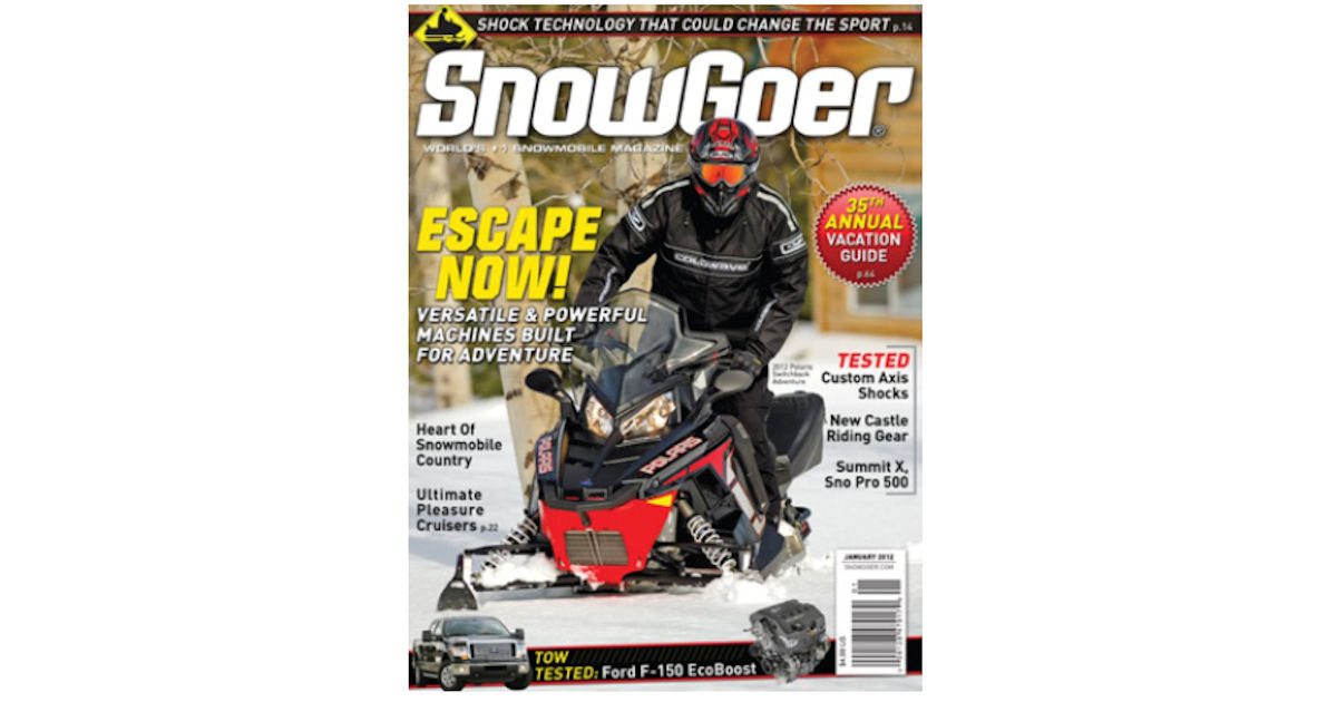 FREE Subscription to Snow Goer...