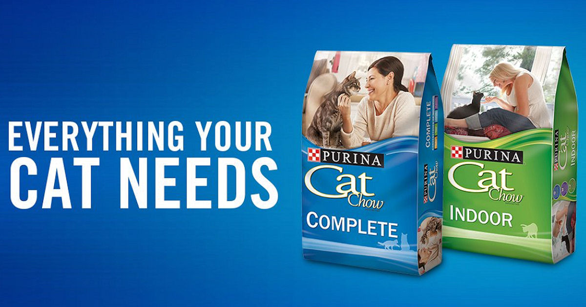 FREE Swag with Purina Cat Chow...