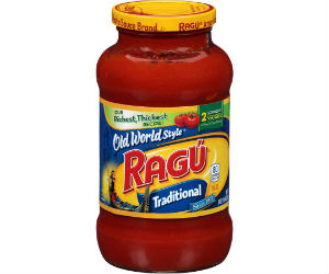 Ragu Pasta Sauce, 24 oz for 53...