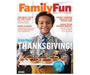 FREE Subscription to FamilyFun...
