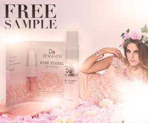 FREE Sample of Dewamor Pink Fl...