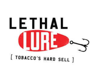 FREE Lethal Lure Window Cling.