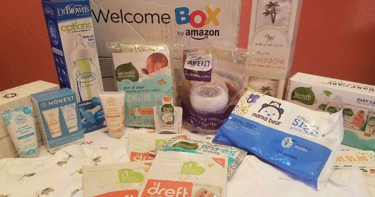 FREE Amazon Baby Welcome Box (...