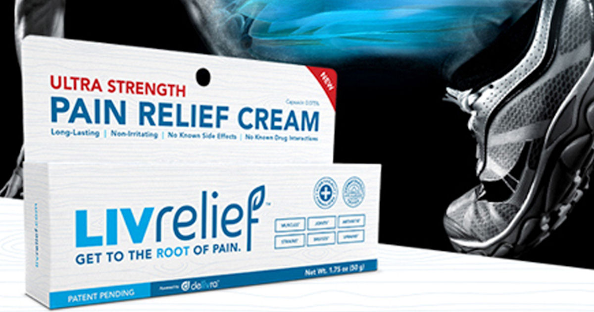 FREE Sample of LivRelief Pain.