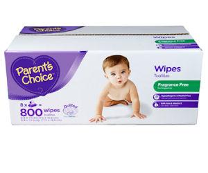 TopCashback - Free 800ct Box of Parent's Choice Baby Wipes - Free ...