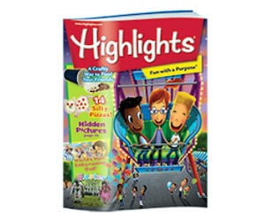 FREE Highlights Magazines (3 F...