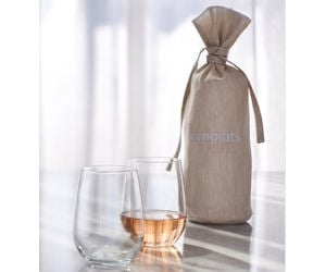 FREE Set of Wine Glasses with.