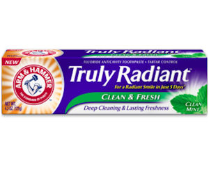 Free Sample of Arm & Hammer Truly Radiant Toothpaste - Free ...