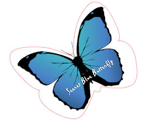 Secret Blue Butterfly