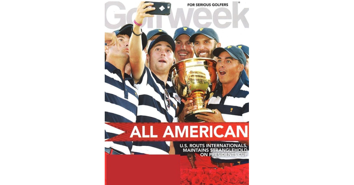 FREE Subscription to Golfweek.