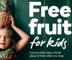 FREE Fruit for Kids at Giant E...