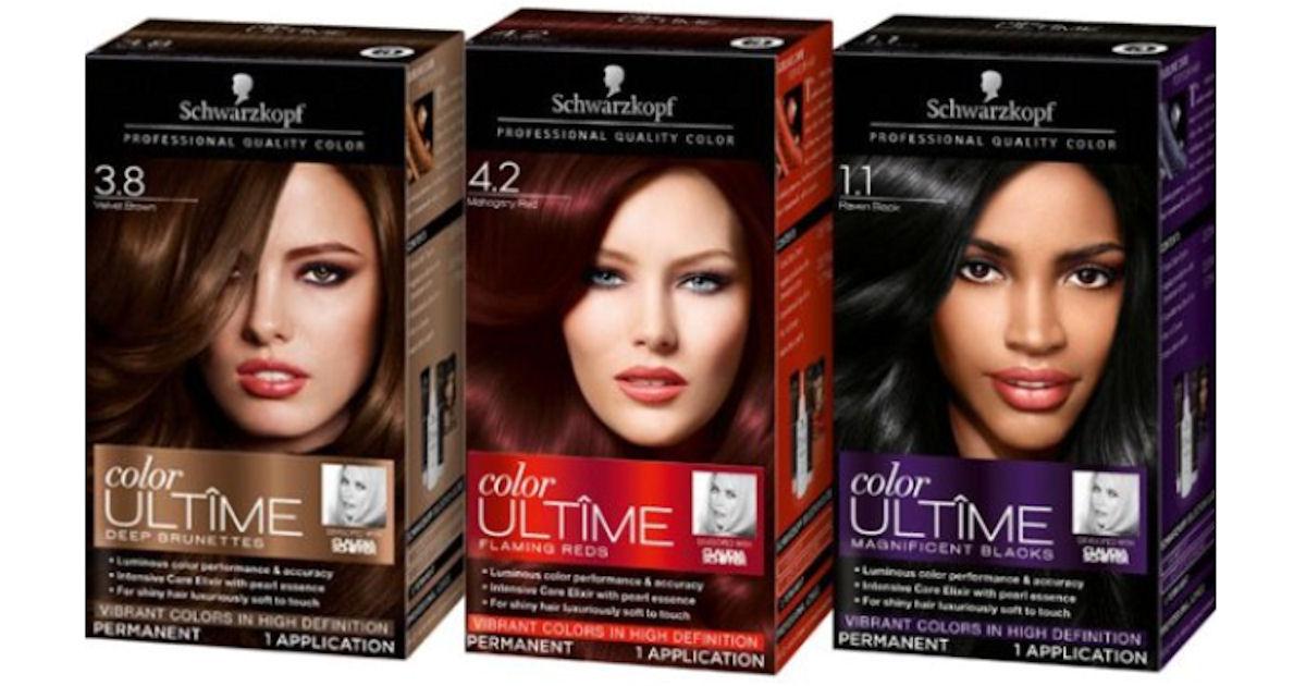 FREE Schwarzkopf Hair Color wi...