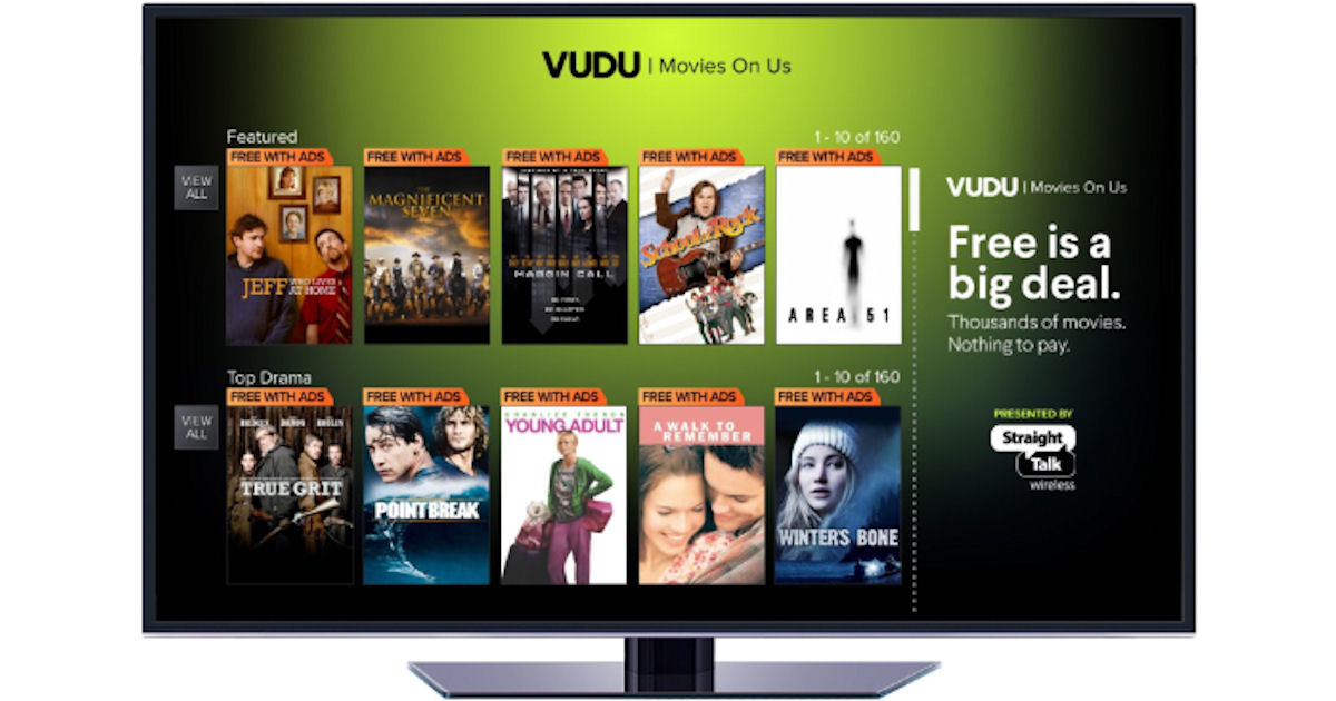 FREE VUDU Movies On Us - Watch...