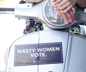 FREE Nasty Women Vote Bumper S...