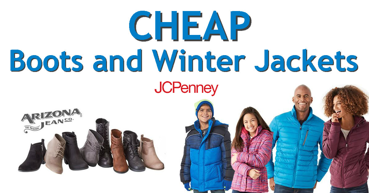 3f97ca3c7938 JCPenney - Winter Puffer Jackets   Boots ONLY  15 Each - Daily Deals ...
