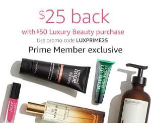 Amazon Prime Members: $25 Back...