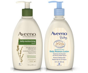 FREE Aveeno Body Lotion...